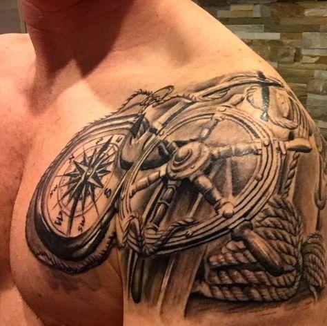 Nautische Tat   - Sammlung Tattoos - #Nautische #Sammlung #Tat #tattoos