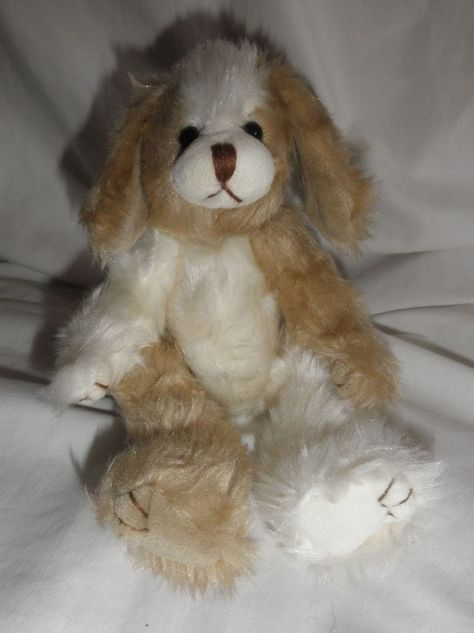 """Ty Attic Treasures Scruffy Dog Jointed 9/"""" 1993 Retired"""