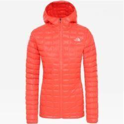 Thenorthface Ladies Quilted Jacket Thermoball Eco Hoodie Size M In Radiant Orange Size M In Radiant E In 2020 The North Face Womens Quilted Jacket Jackets For Women