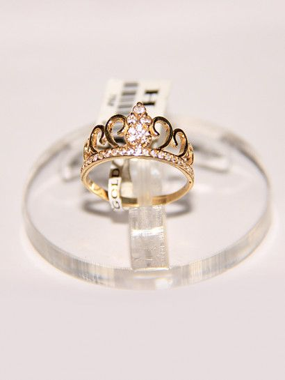 خاتم ذهب عيار 18 خاتم ذهب عيار 18 شكل تاج مرصع بالفصوص عند البيع يرد بالفصوص Crown Jewelry Jewelrymaking Love Women Engagement Rings Rings Engagement