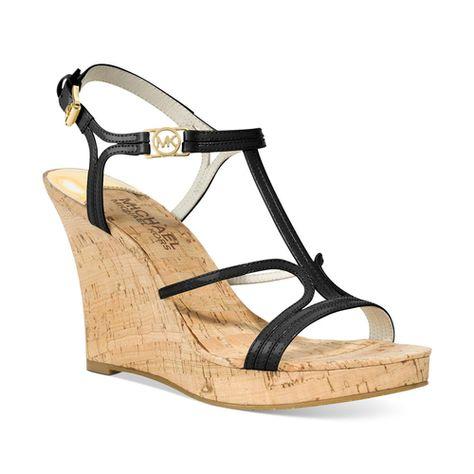 Michael Kors women's Cicely Patent Shoes Black Patent | Navy