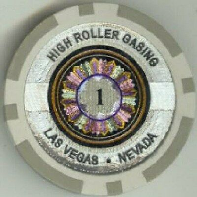 New Roll Of 50 Black 100 Chips High Roller Casino Laser Ebay High Roller Casino Roller