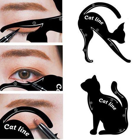 1 Unidades Delineador De Ojos Del Maquillaje Del Ojo De Gato