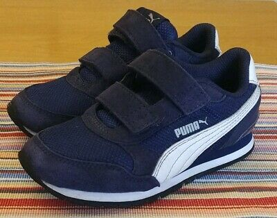 Sponsored Ebay Toddler Boys Puma Sneakers Size 10 Navy Blue Kids Outfits Puma Sneakers Boys Shoes