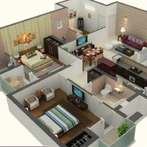Marvelous 96 House Design 15 X 30 House Plan For 15 Feet By 50 Plot Size 83 20 X 50 House Plans Image In 2020 1000 Sq Ft House North Facing House House Floor Plans