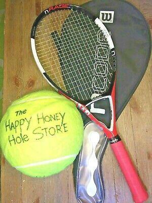 Wilson Ncode N Rage Oversize Nrage Tennis Racket Racquet N In 2020 Tennis Racket Rackets Tennis