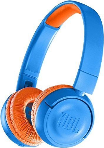 Buy Jbl Jr300 Kids Wireless On Ear Headphones Blue Orange Online At Low Prices In India Amazon In Kids Headphones Headphones In Ear Headphones