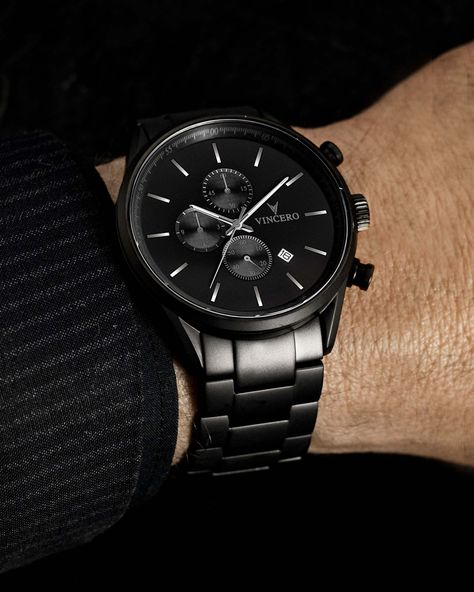Best Watches For Men, Luxury Watches For Men, Cool Watches, Men's Watches, Black Watches, Watch For Men, Male Watches, Mens Sport Watches, Mens Watches Leather