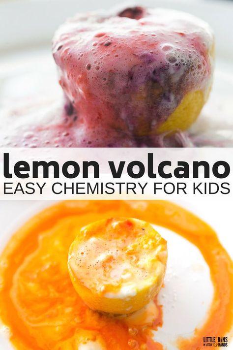 Chemistry Experiments For Kids, Baking Soda Experiments, Science Crafts, Easy Science Experiments, Science Chemistry, Science Activities For Kids, Science Fair Projects, Science For Kids, Science Fun