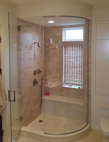 Chicago Glass Frameless Steam Shower Doors And Enclosures With