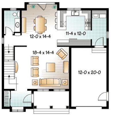 Plan 21687dr New England Inspiration A Frame House Plans House Floor Plans House Plans