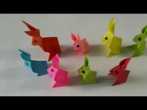 Easter Rabbit | Bunny Box - DIY Origami Tutorial by Paper Folds ... | 355x474