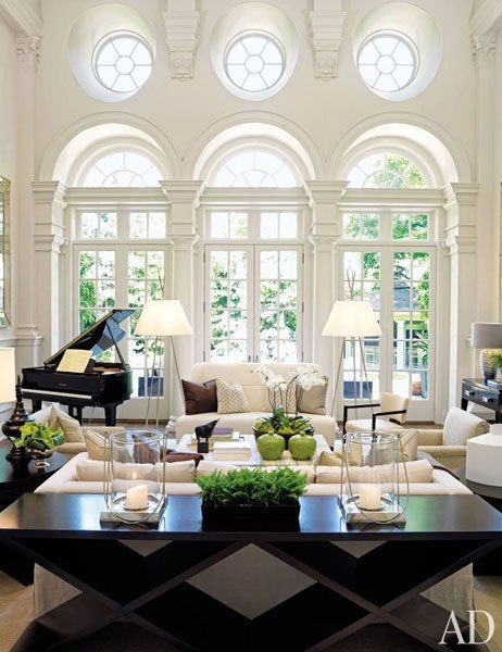A Neo Traditional Italian Renaissance Inspired Living Room Elements 1 Palladian Ar French Country Living Room French Living Rooms French Living Room Decor
