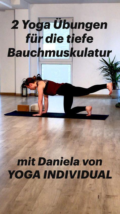 2 Yoga Übungen für die tiefe Bauchmuskulatur