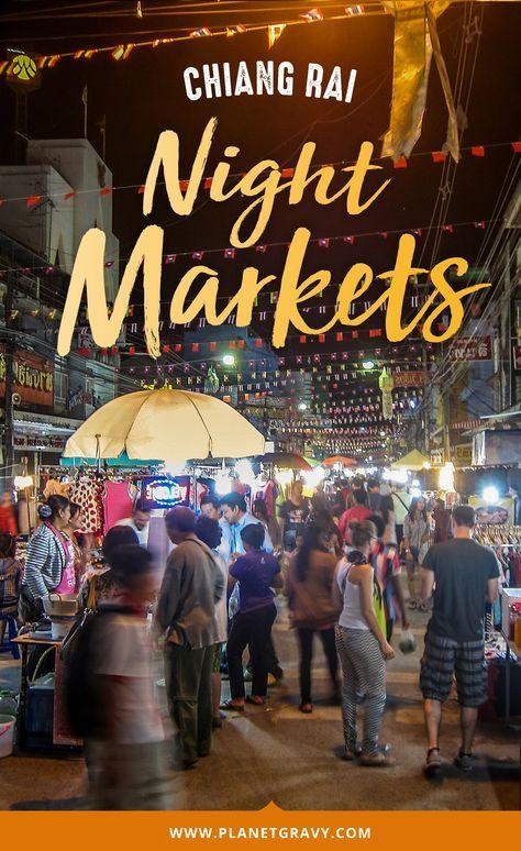 [Chia sẻ] Khám phá Chợ Đêm Chiang Rai, Chiang Rai, Thái Lan