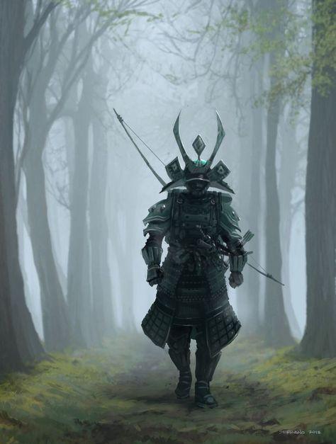 samurai in 2019 samurai t towierung japanische krieger tattoo und samurair stung