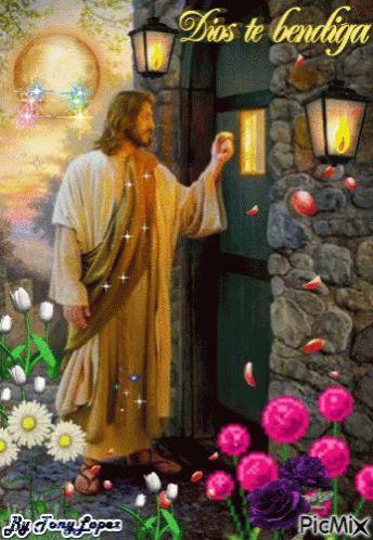 Jesus Toca Tu Puerta GIF - JesusTocaTuPuerta - Descubre & Comparte GIFs