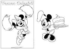 Montando Minha Festa Livro De Colorir Minnie Livro De Colorir