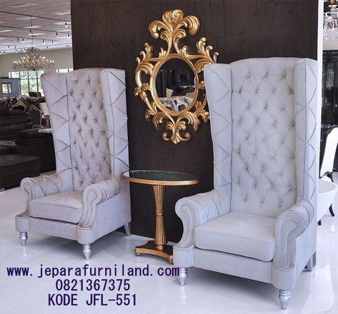 jual sofa tamu mewah model wing (dengan gambar) | kursi