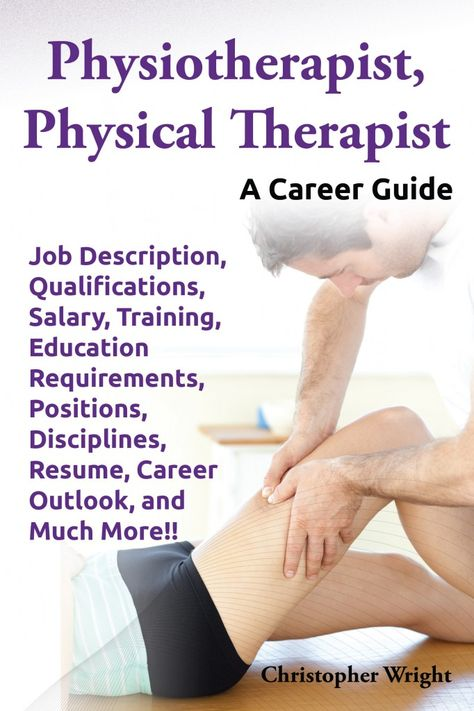 Physiotherapist, Physical Therapist Chapter 1 - Physiotherapy - physical therapy job description