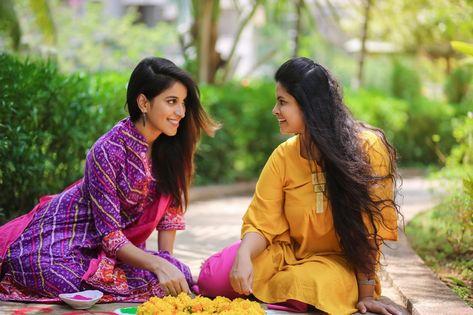 Indian Lesbian Couple Indian Women Muslim Women Women