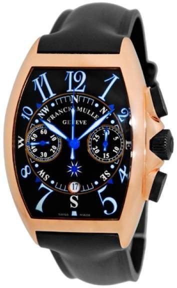 fd5652a1f3f Franck Muller Frank Muller Cintree Curvex Mariner 18K Rose Gold Chronograph  Watch