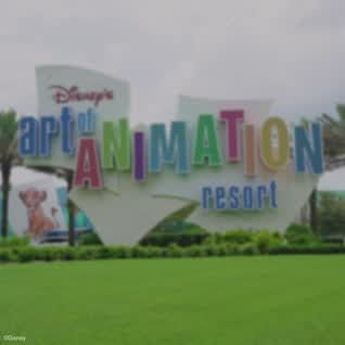 Splash into favorite movies and write your own story at Disney's Art of Animation Resort!