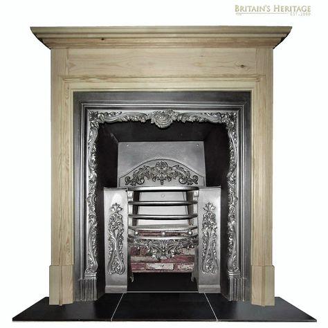 Georgian Victorian Hob Grate Antique Fireplace Insert In 2020 Fireplace Inserts Cast Iron Fireplace Georgian Fireplaces