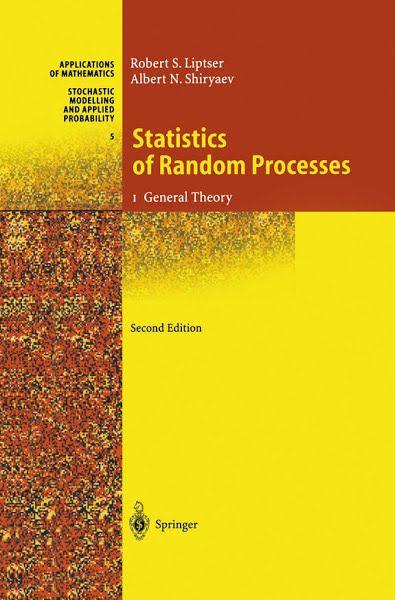 Download Ebooks Statistics Of Random Processes By Robert S