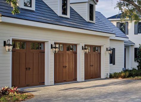 7 Features To Look For In Your Next Garage Door Garage Door Styles Garage Door Design Faux Wood Garage Door