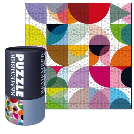 This jigsaw puzzle forms a multicolor circular pattern motif! Designed in Germany. Designed in: Germany Product: Puzzle Inclues: 500 pieces DIM: x