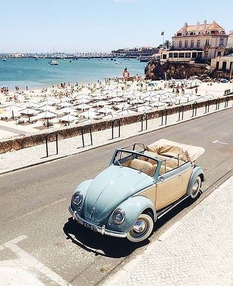 Great Classic Vintage Car Picture - Great Classic Vintage Car Picture - vintagetopia VW Beetle -love the colour combo Command winter with the performance of an Acura TLX with available SH-AWD. Dream Cars, My Dream Car, Velo Vintage, Vintage Cars, Volkswagen Vintage, Volkswagen Bus, Vw Camper, Vespa, Cyclades Greece