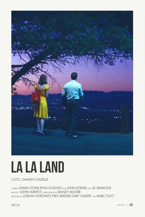 Andrew Sebastian Kwan — La La Land alternative movie posters