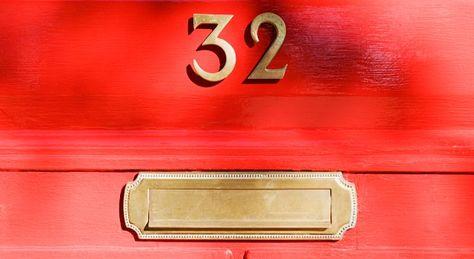 A painted door #goodluck #decortips