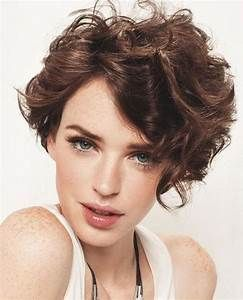 Asymmetrical Short Curly Hair Styles 2018 2019 Short Bob Haircuts For Wavy Hair Short Wavy Hair Short Curly Haircuts