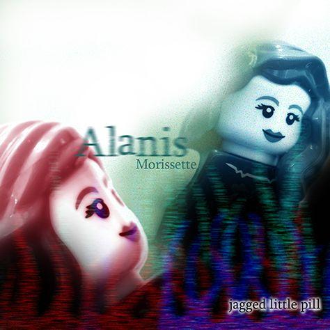 Jagged Little Pill Framed Original Art Album Print Alanis Morissette Poster