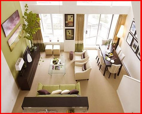 26 Hiasan Rumah Teres Setingkat Ideas Home Decor Design Rumah Living Room Dining Room Combo