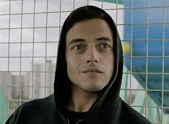 New trending GIF on Giphy. mr robot rami malek. Follow Me