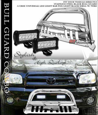 Sponsored Ebay For 99 06 Tundra Sequoia Chrome Bull Bar Bumper Guard W 36w Cree Led Fog Lights In 2020 Led Fog Lights Bull Bar Cars Trucks