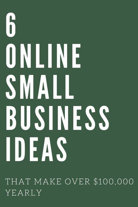 Six Figure Online Business Ideas