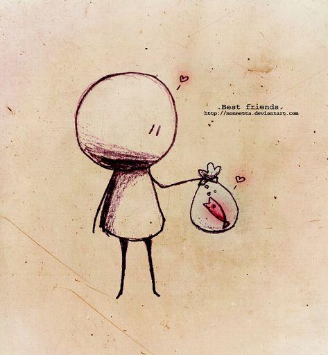 .Best friends. by Nonnetta.deviantart.com on @deviantART