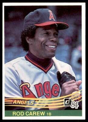 1984 Donruss Rod Carew California Angels 352 Ebay In 2020 Rod Carew Rod California