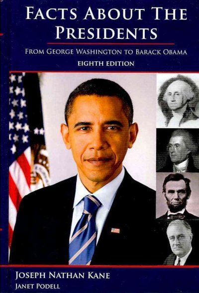 Facts About the Presidents : A Compilation of Biographical and Historical Information