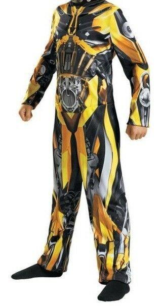 Transformers Optimus Prime Boys Costume Size Large 10-12 Bodysuit New