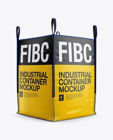 Download Download Psd Mockup 3 4 Bag Bag Mockup Big Bag Big Bag Mockup Bulk Bag Container Fibc Fibc Mockup Front View Hal Mockup Free Psd Psd Mockup Template Mockup Psd