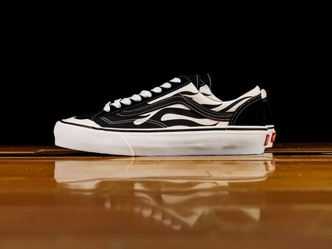 modern and elegant in fashion quality design fashion design Men's Vans Style 36 SF 'Flames' [VN0A3ZCJROF] | Products ...