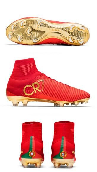 Nuove Scarpa da calcio Nike Mercurial Superfly V FG Rosso