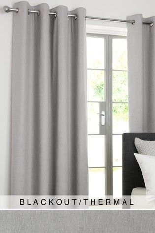 Silver Cotton Curtains Grey Curtains Bedroom Curtains Cool