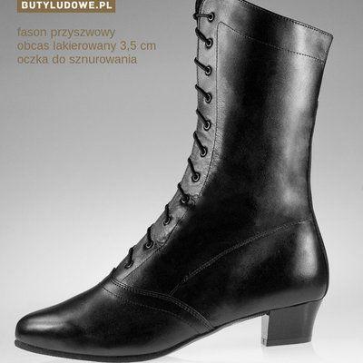 Kozaki Ludowe Damskie Butyludowe Pl Boots Shoes Comfy Boot