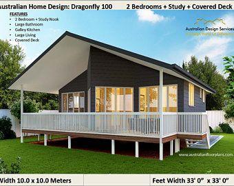 16x28 House 1 Bedroom 1 Bath 447 Sq Ft Pdf Floor Plan Etsy In 2020 Small House Design Modern Small House Design Small House Plans